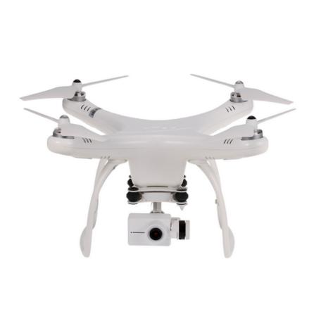 Drone Blanc avec Caméra Suspendue