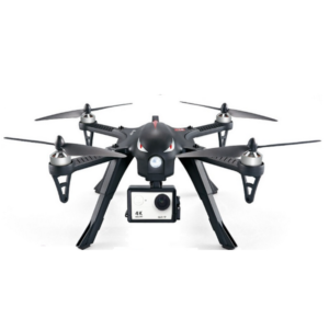 Drone Noir Hélicoptère